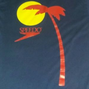 80s Speedo Tree Vintage Shirt Surf Surfing Skate